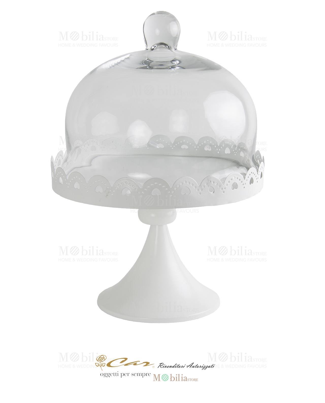 Alzatina grande con Cupola Car bomboniere - MobiliaStore