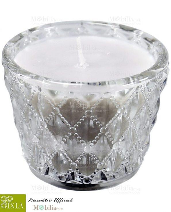 Porta tealight con Candela profumata Ixia