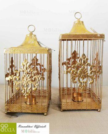 Set Due Lanterne per Tealight