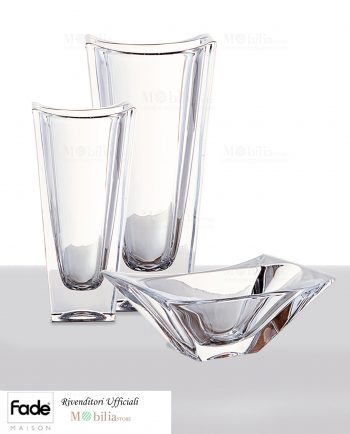 Set cristallo Coppa Vaso Fade