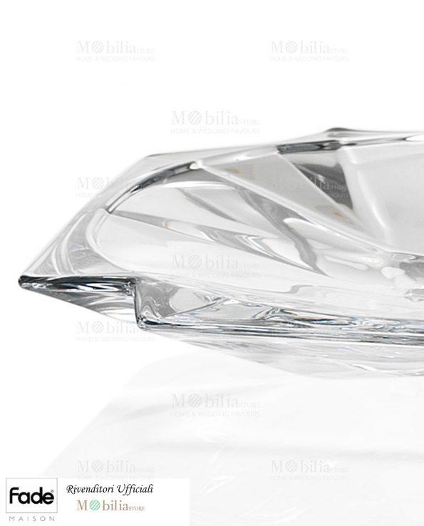 Piatto centrotavola cristallo Fade