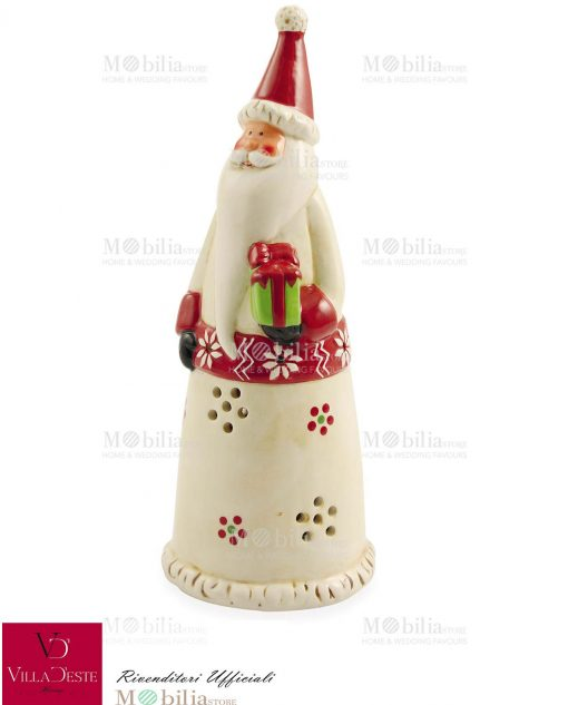 Lanterna Babbo Natale Led Villa d'Este