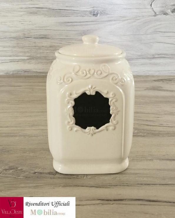 Barattolo Ceramica Villa d'Este