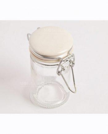 Barattoli Ermetici Vetro Tappo Ceramica