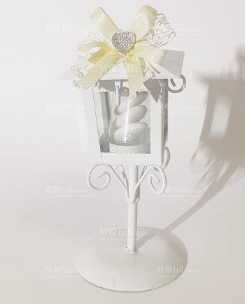 Bomboniere Cresima Lanterne-Bomboniere Battesimo Bimba Lanterna Lampione con Cuore-Bomboniere Matrimonio Lanterna Lampione con Cuore