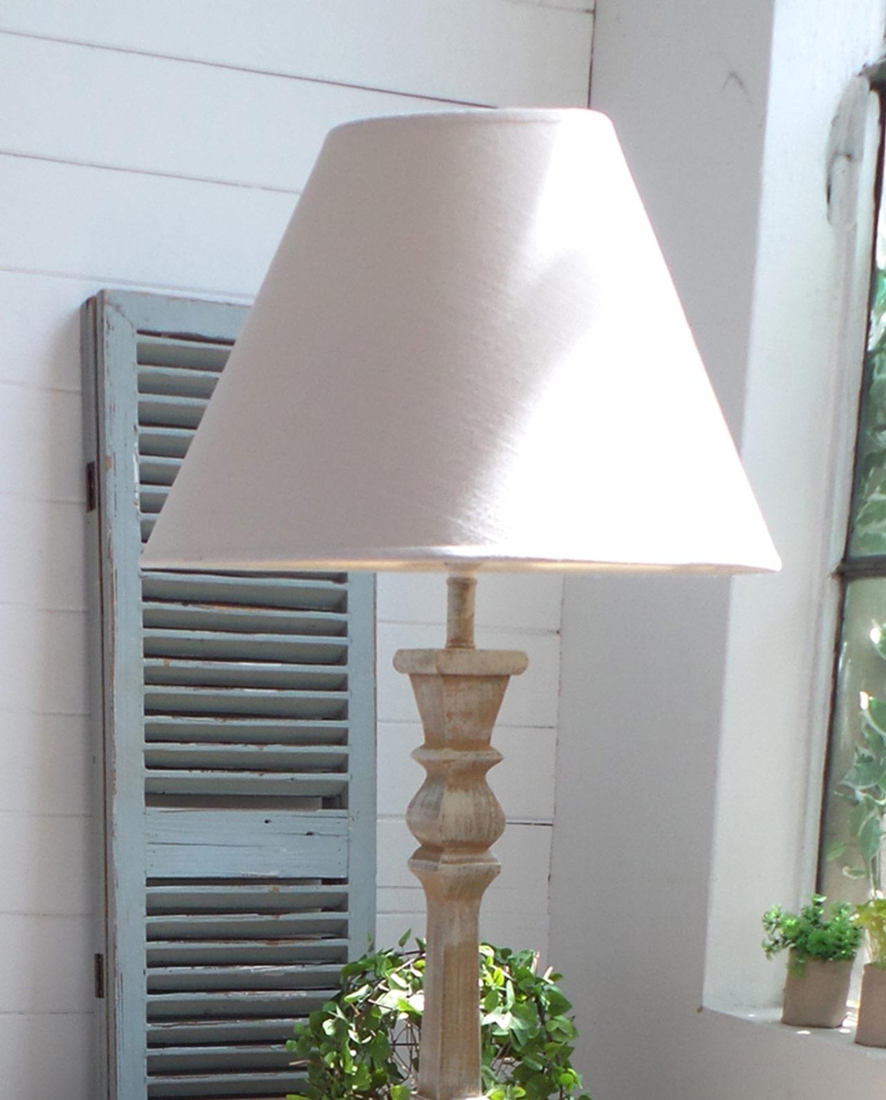Lampada da terra in legno stile country mobilia store for Lampada salotto