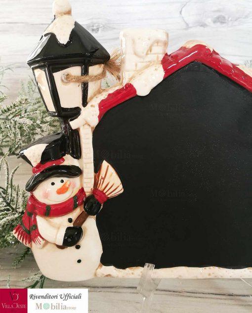 lavagna appendibile dettaglio pupazzo di neve