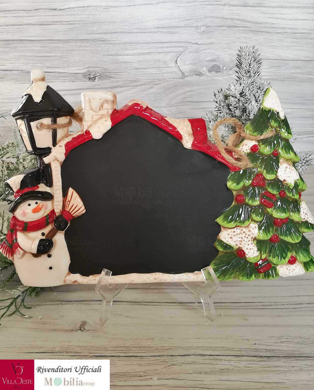 Lavagna natalizia da appendere mobilia store home favours for Mobilia lavagna