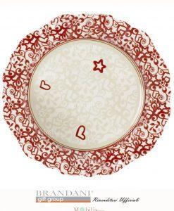 piatto da portata rosso min