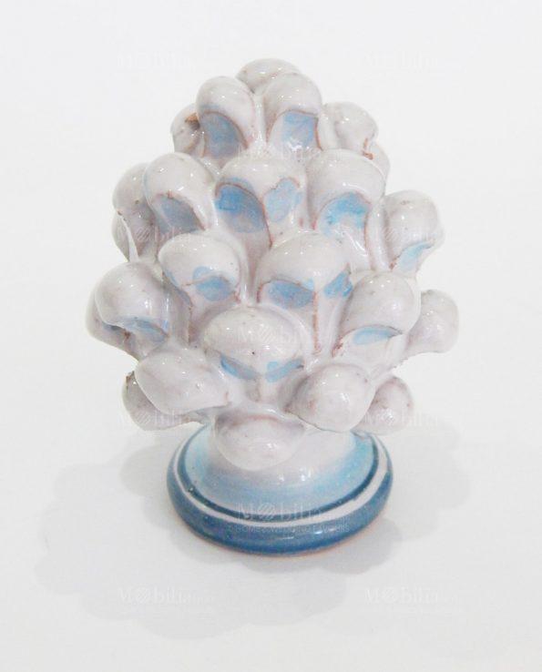 Bomboniera pigna in ceramica di caltagirone