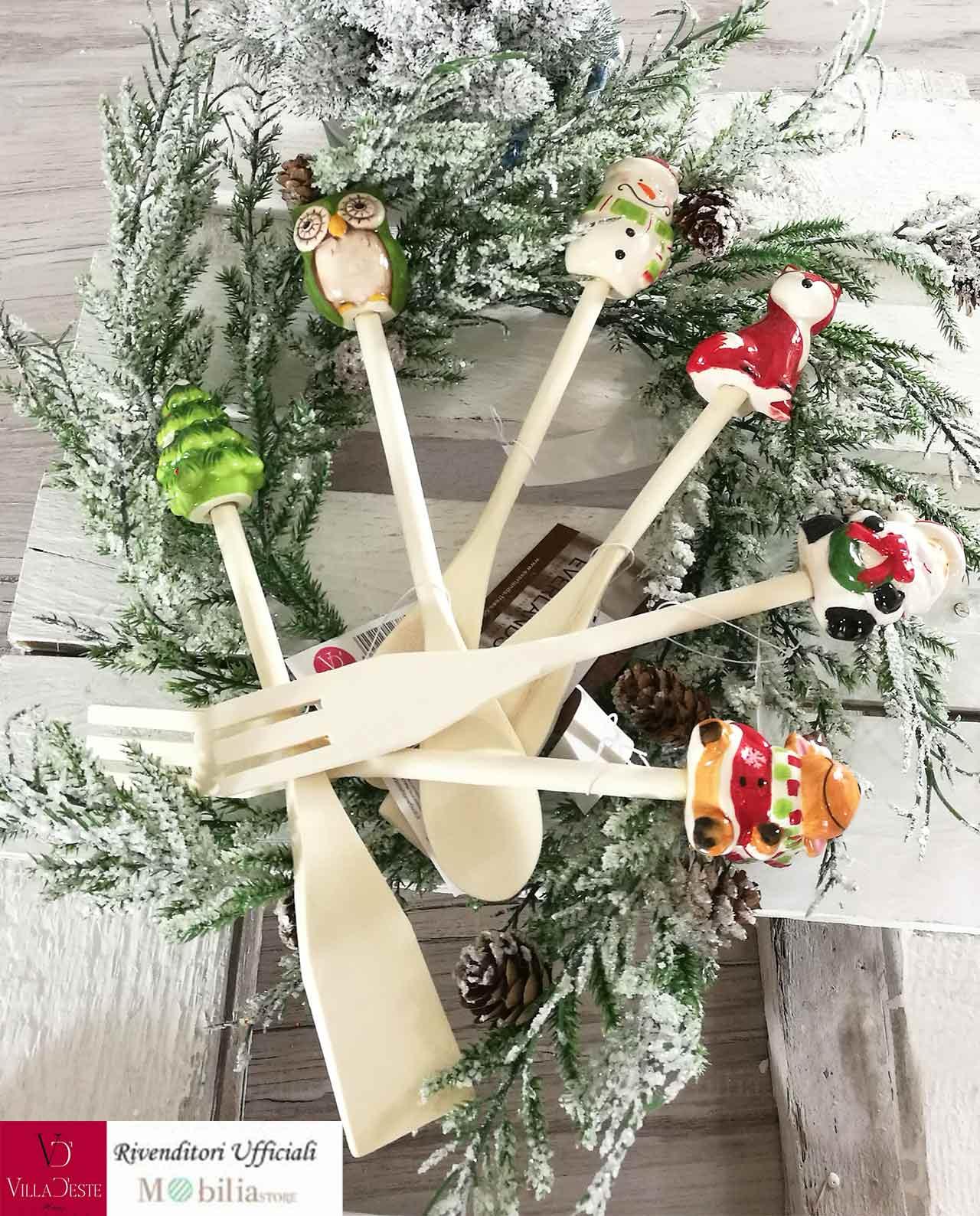 Utensili da cucina natalizi varie forme - Mobilia Store Home & Favours