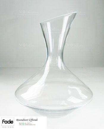 Decanter vino vetro
