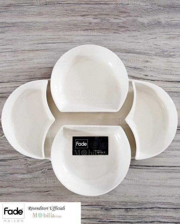 Antipastiera Bianca ceramica