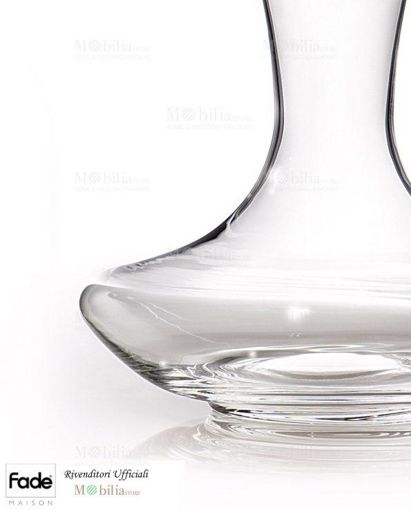 Decanter per vino vetro