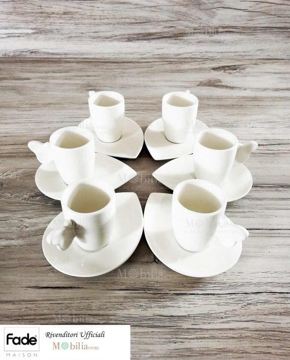 Tazzine da Caffè Bianche