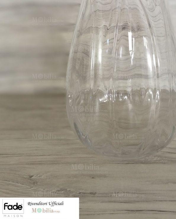 Vasi vetro trasparente per fiori