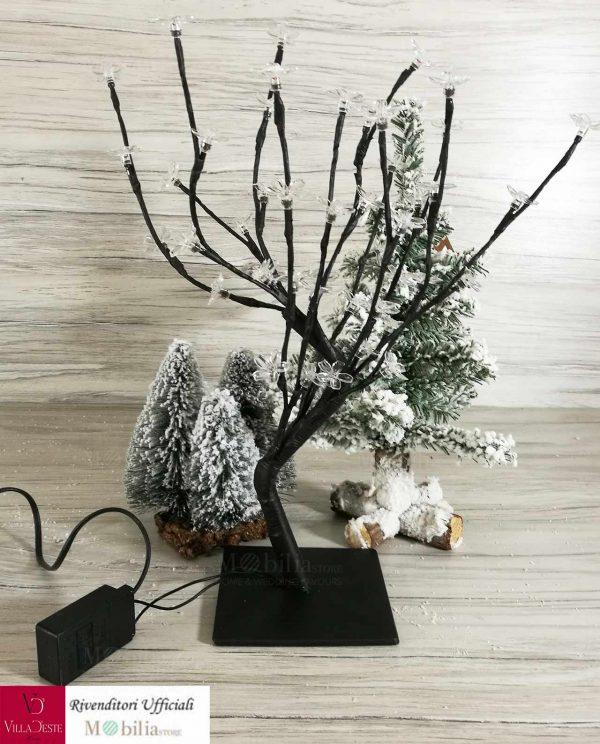 Albero Natale con Fiori Led