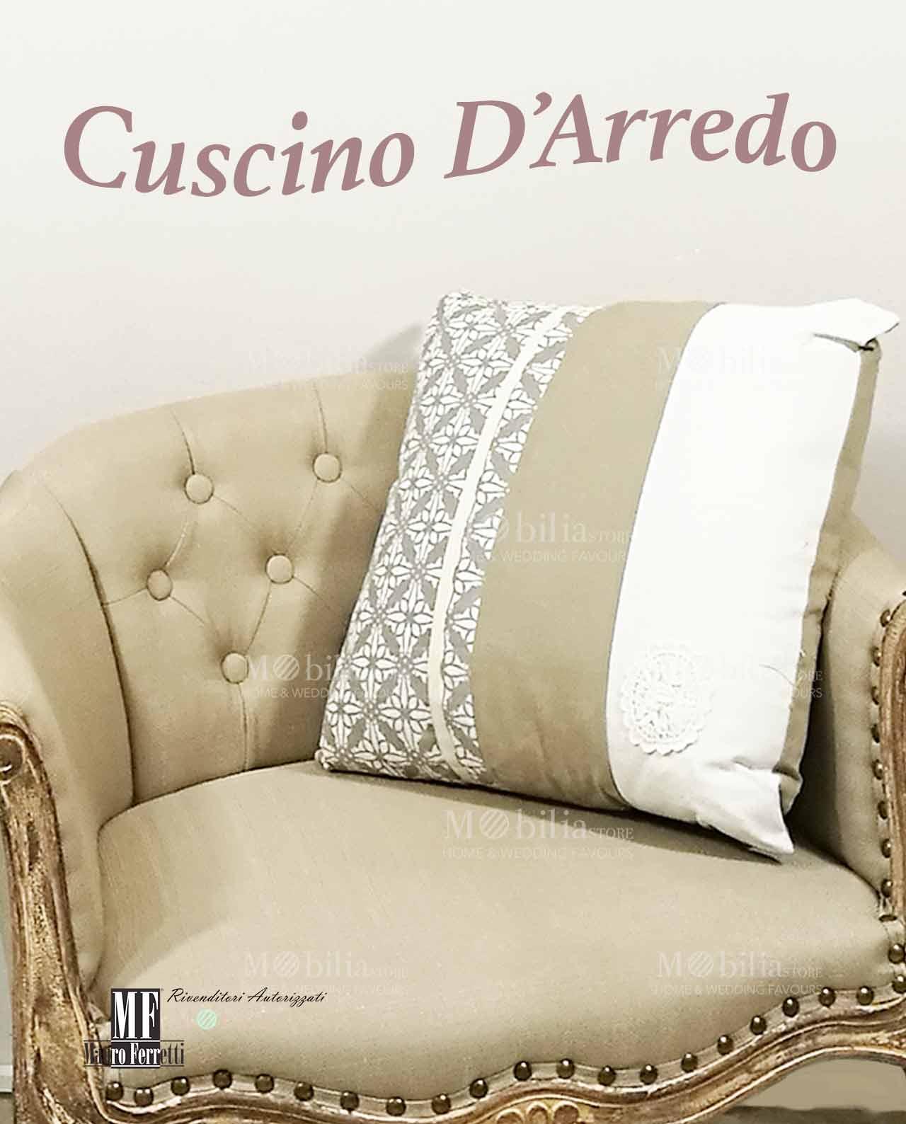cuscini per divani shabby chic in promozione mobilia