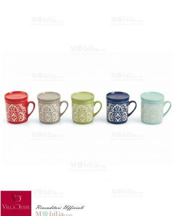 Infusiera Ceramica Marocco Villa d'Este