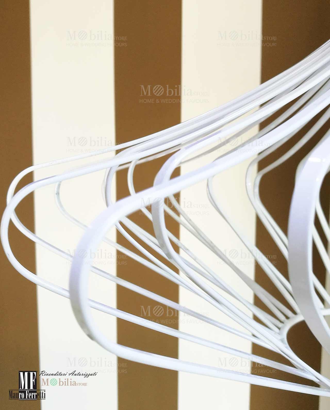 Lampadario moderno bianco – Mobilia Store Home & Favours