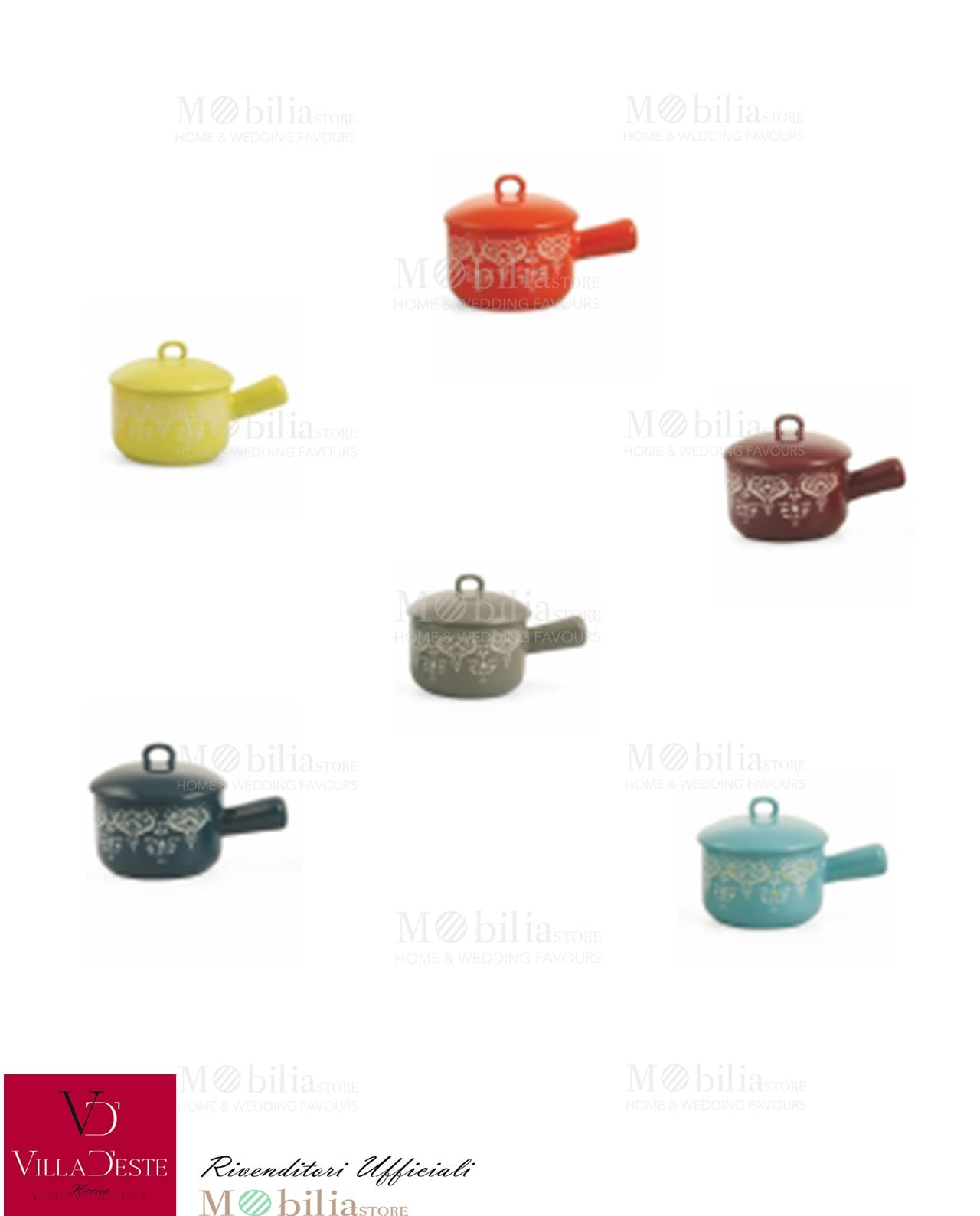 Pentolino mykonos villa d 39 este grande occasione da non - Mykonos ceramica ...
