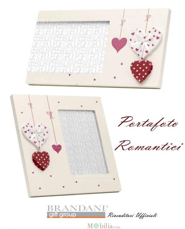 Portafoto Romantico Millecuori Brandani