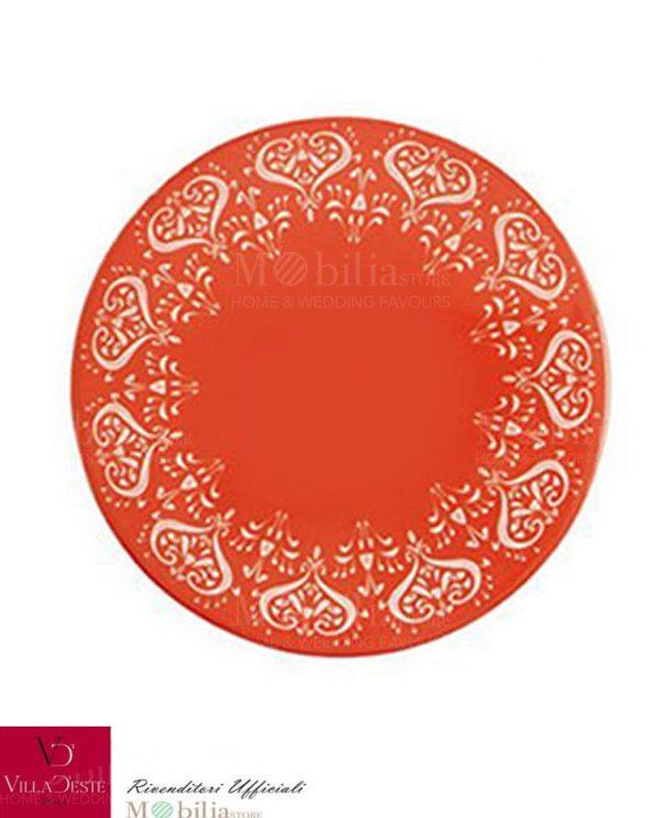 Sottobicchieri Ceramica e Sughero Mykonos Villa d'Este Set 6 pz
