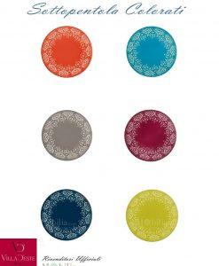 sottopentola colorati