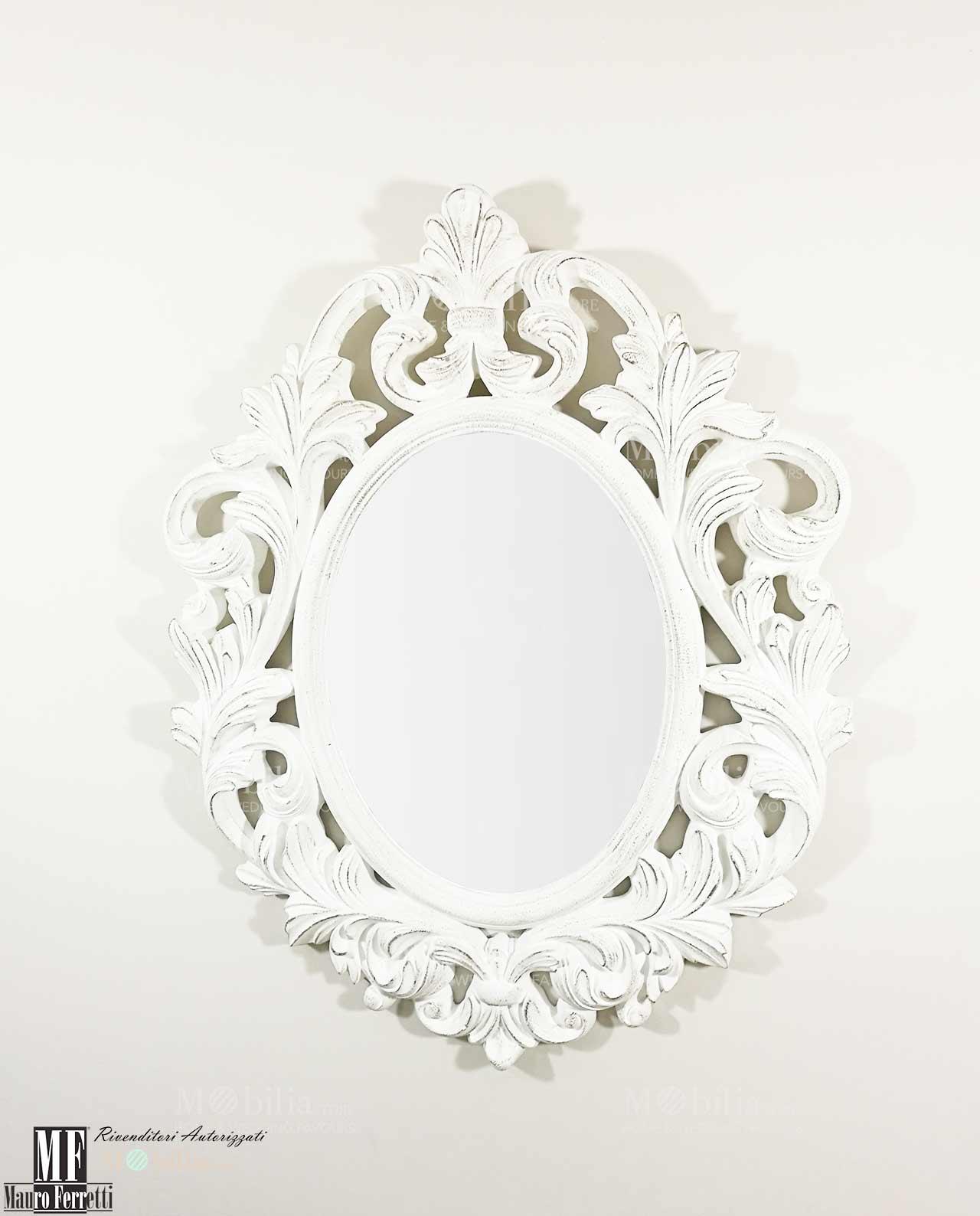 Specchi in stile specchi decorativi with specchi in stile - Specchio antico ovale ...
