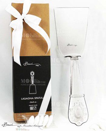 Bomboniera Spatola Lasagne Trasparente Baci Milano