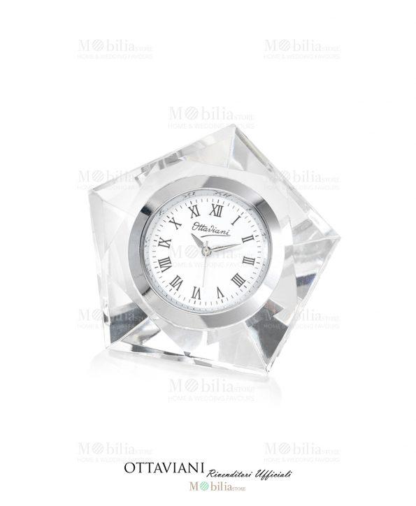 Orologio da tavolo Cristallo Elegante Ottaviani