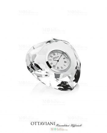 Orologio da tavolo Cuore cristallo Ottaviani