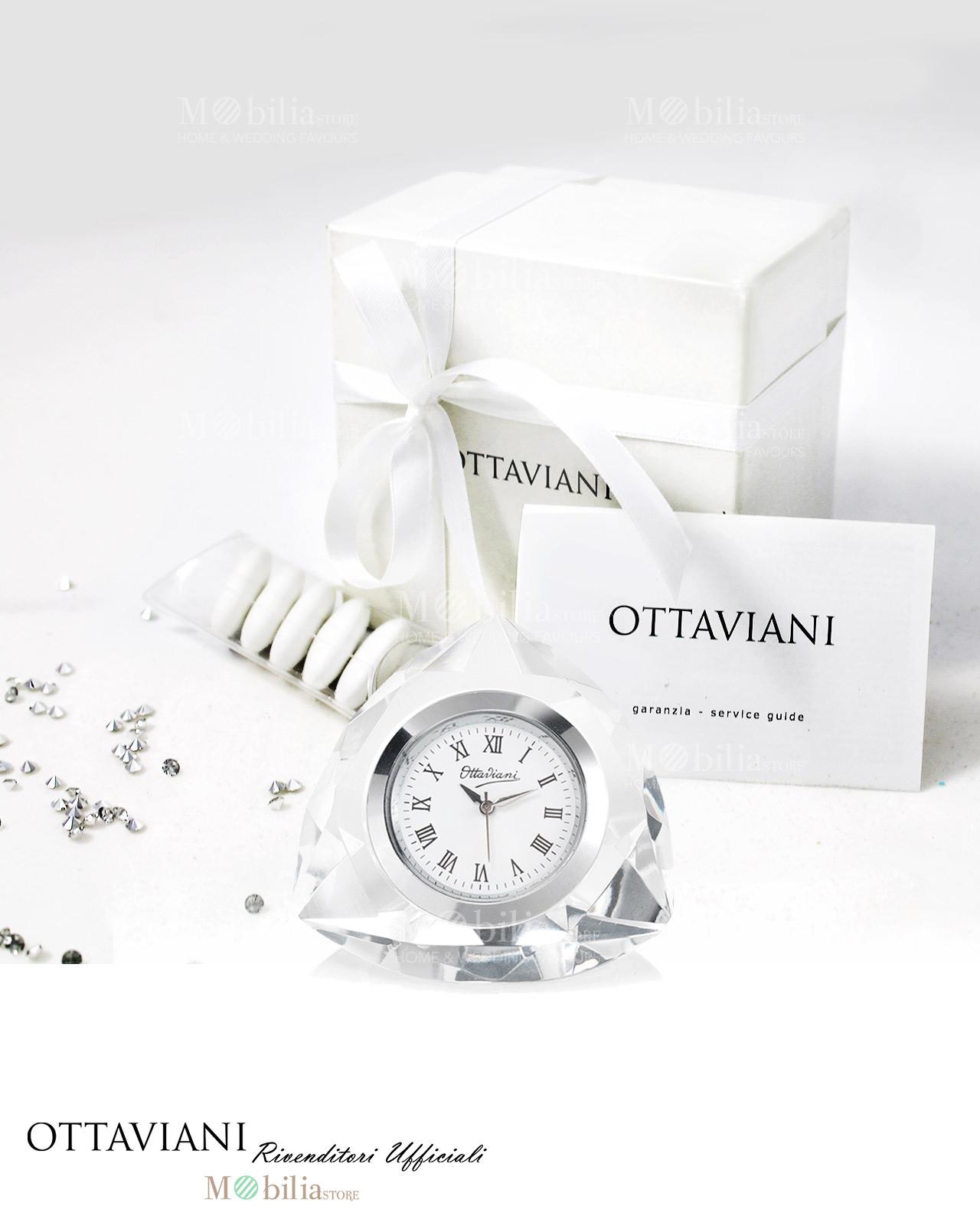 Bomboniere matrimonio orologio da tavolo triangolare ottaviani - Ottaviani orologio da tavolo ...