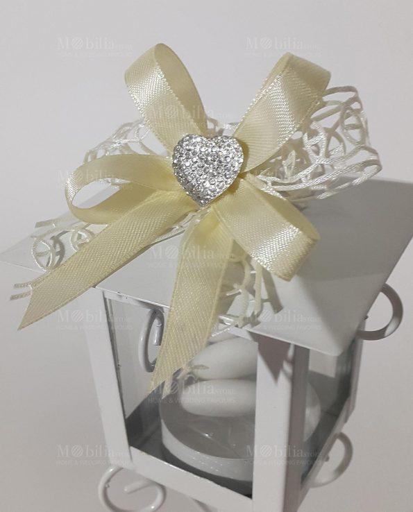 Bomboniere Matrimonio Lanterna Lampione con Cuore