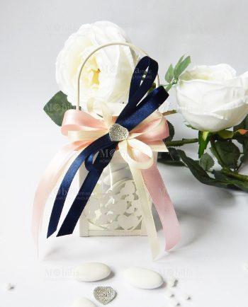 Bomboniere Matrimonio Lanterna Cuoricini Elegante