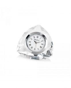 orologio piccolo triangolare in cristallo Ottaviani