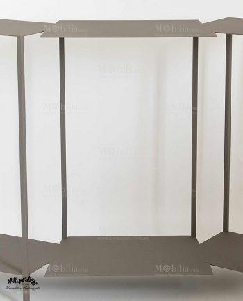 Applique da parete color argento in offerta mobiliastore for Letto stile arti e mestieri
