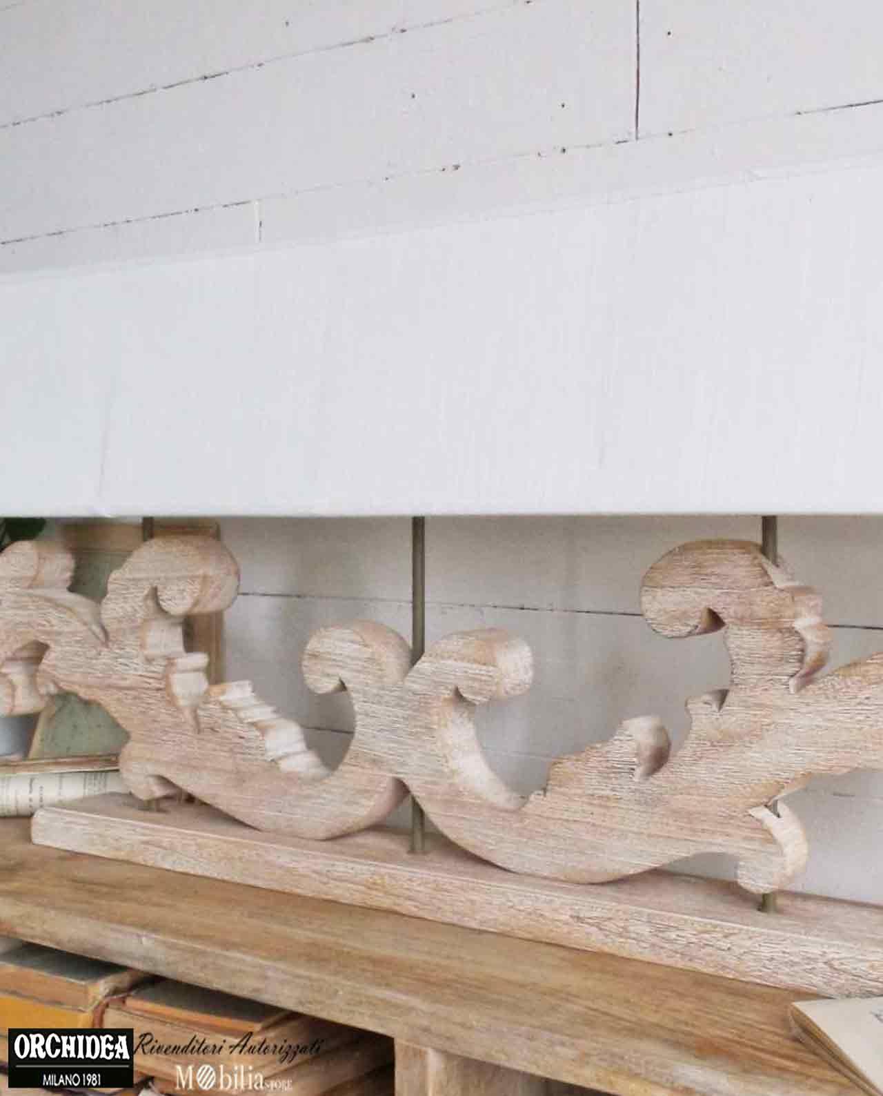 Lampada da tavolo legno tre fiamme mobilia store home - Lampada da tavolo legno ...