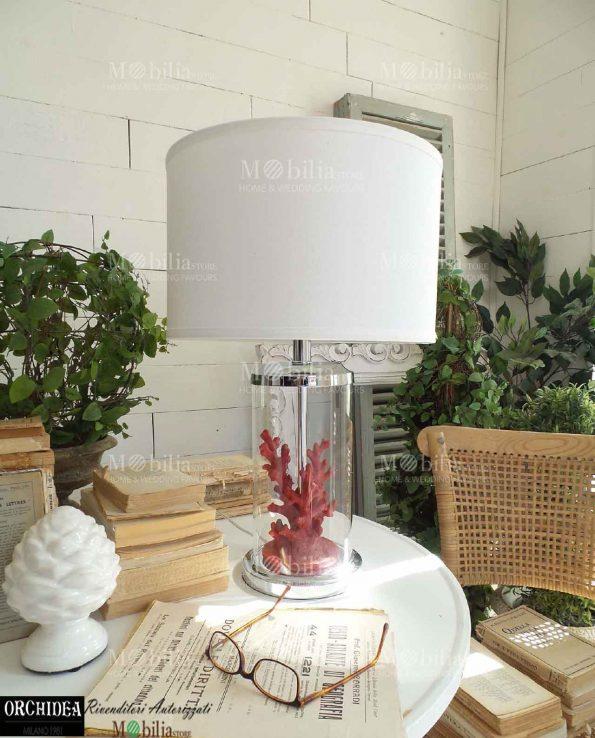 Lampada da Tavolo Moderna con Corallo