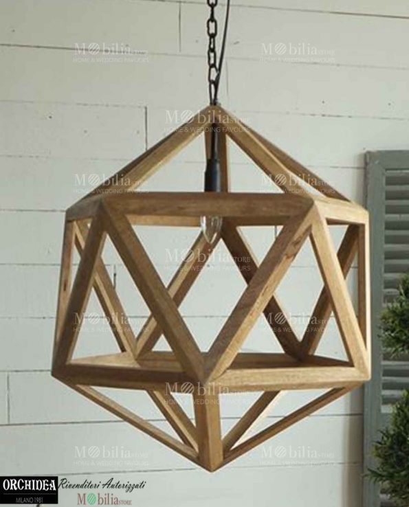 Lampadario moderno design tutto su ispirazione design casa for Lampadario legno moderno