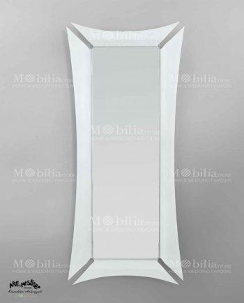 Specchio da terra con cornice Arti e Mestieri