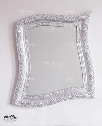 Specchio da parete Moderno oro e argento Arti e Mestieri