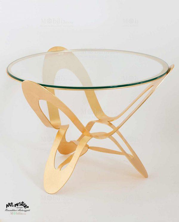 Tavolino Moderno oro