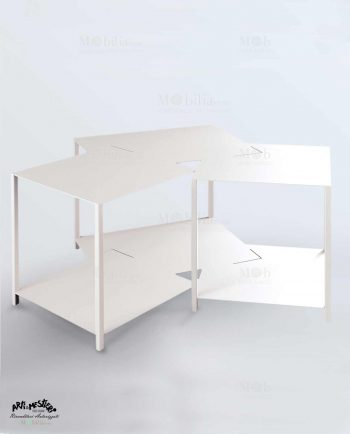 Tavolino Moderno stile industriale Arti e Mestieri