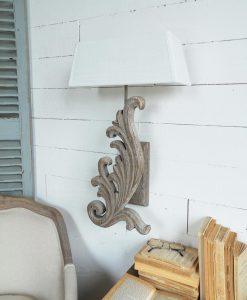 Pannello portafoto decorativo con pesce for Applique da parete legno