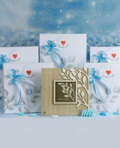bomboniera portafoto cuoregaio albero della vita cuorematto