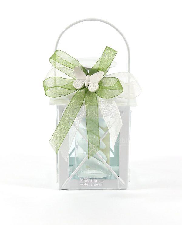 Bomboniere Comunione e Cresima Lanterna Portacandela-Bomboniere Matrimonio Lanterna Portacandele