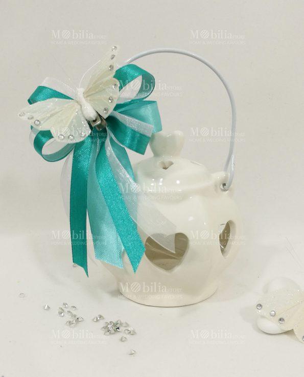 Bomboniere Comunione Lanterna Piccola Ceramica