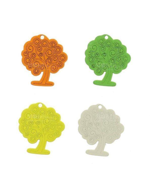 Bomboniere Ciondolo Albero della Vita 4 Colori Assortiti
