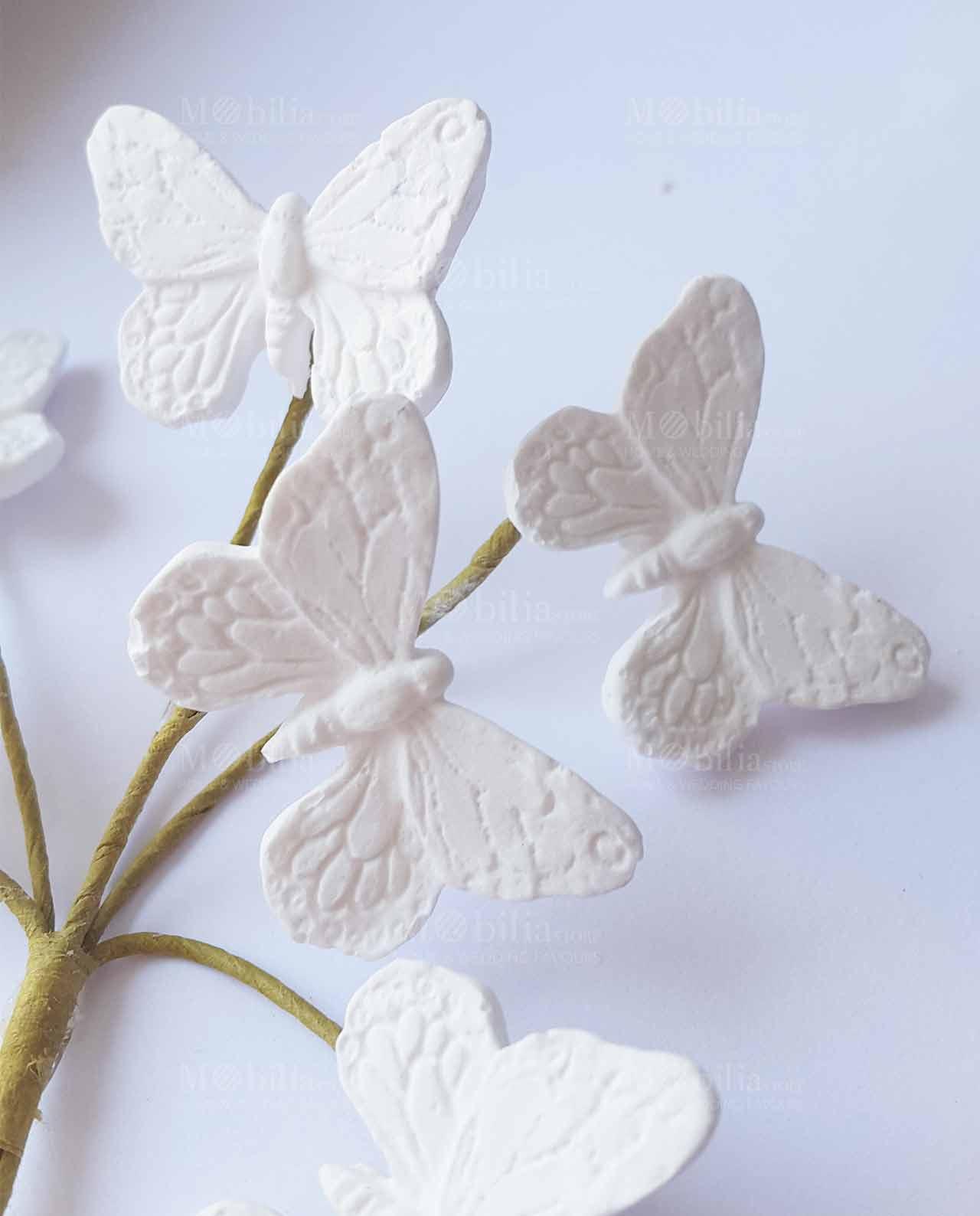 Famoso Decorazioni Farfalle Gessetto per Bomboniere PA84